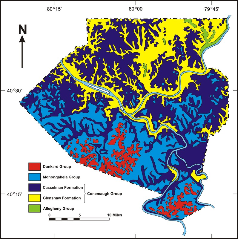 Maps and Diagrams - PITTSBURGH GEOLOGICAL SOCIETY
